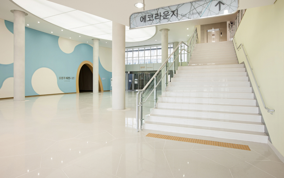 Lobby Floor Stairs