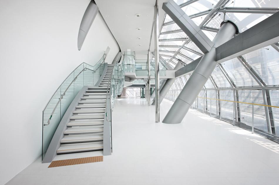 Office Floor Stairs